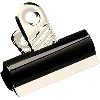 5 Star Grip Clips Metal Width 50mm Black [Pack 10]