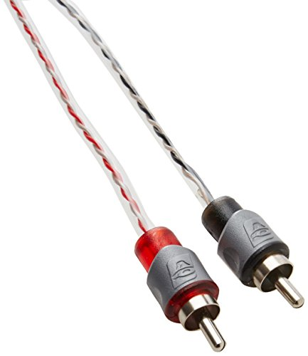 CERWIN VEGA CRV12 12-Feet Twin Lead Color Coded RCA Cable Male to Male Ends for Superior Sound