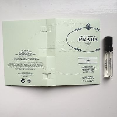 Prada Infusion D'Iris Sample-Vials For Women, 0.05 oz EDP *Lot Of 2***Free Name Brand Sample-Vials With Every Order** ()