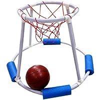 SODIAL Jouets de Compétition de Piscine d'eau D'été Panier de Basketball d'eau pour Enfants Jeu de Basketball Flottant Basketball Natation de Natation Jouets de Sports Nautiques