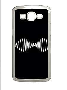 Samsung 2 7106 Case Sound Waves PC Samsung 2 7106 Case Cover Transparent