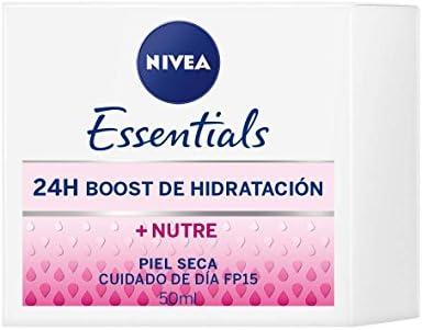 NIVEA Cuidado de Día Nutritivo, crema facial con protector solar ...