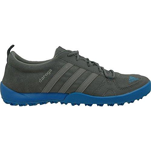 adidas Daroga Lea K, Zapatillas de Deporte Unisex Bebé Gris / Azul (Onix / Gris / Azuimp)
