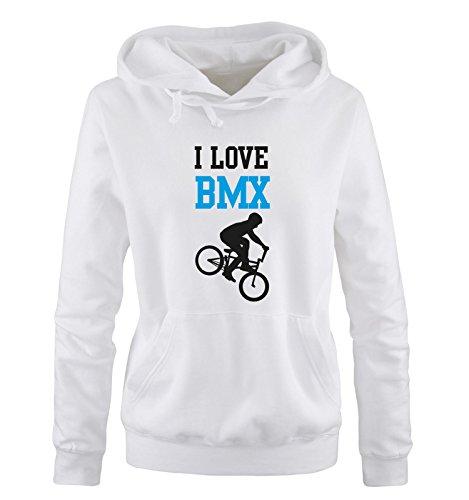 cappuccio cappuccio cappuccio lunghe black blue Shirts Shirts Shirts con Maniche Donna Comedy white Felpa wqXAP8Pnt