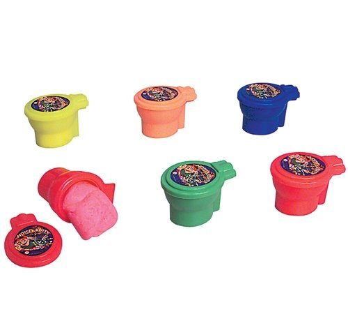 4'' TOILET SHAPE NOISE PUTTY, Case of 72