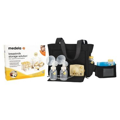 Medela Pump in Style Advanced Breast Pump and Storage Starter Kit Bundle - Nursery Necessity - Baby Products - Pump In Style has helped breastfeeding moms provide what's best for ()