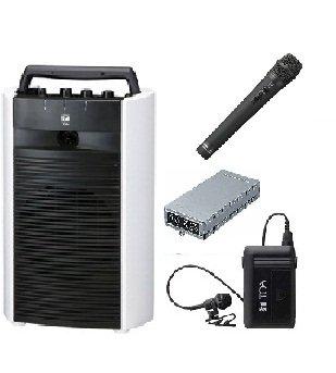 TOA 800MHz帯デジタルワイヤレスアンプ/ダイバシティ WA-2800+WTU-1820+WM-1220+WM-1320 B015GV8S6K