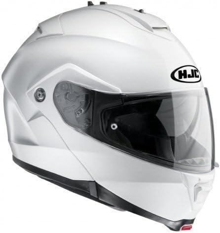 HJC 11562910 Casco de Moto, Blanco Perlado, Talla XL