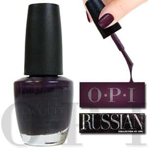 OPI Nail Lacquer, Siberian Nights, 0.5 Ounce