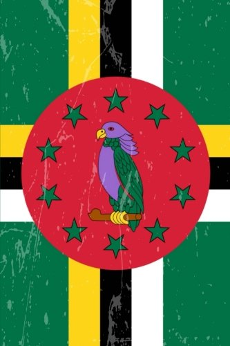Dominica Flag Journal: Dominica Travel Diary, Dominican Holiday Souvenir Book, lined Journal to write in