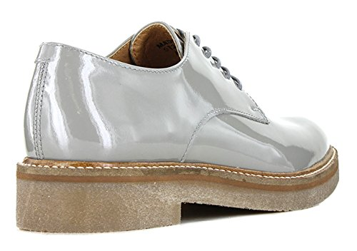 Kickers Oxfork, Chaussures Lacées Femme Gris