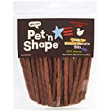 Pet 'N Shape - Made & Sourced In Usa - Chik 'N Sweet Potato Stix Jerky, 14 Oz