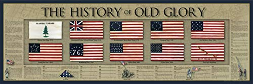 The History of Old Glory Print - 11 3/4