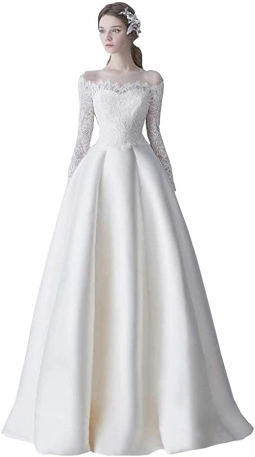 Amazon Kinouta Dress 花嫁 結婚式 カクテルドレス ロングドレス 袖