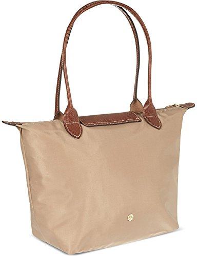 femme pour Beige Longchamp beige Cabas Uq4wwx6