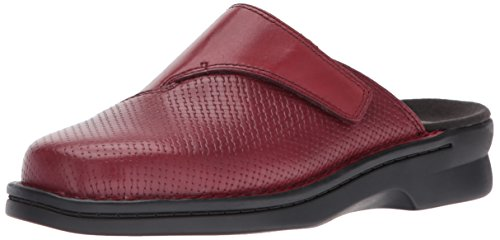 Clarks Womens Patty Tayna Mule M Red Leather