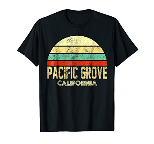 Pacific Grove California CA Vintage Retro Sunset Tee for sale  Delivered anywhere in USA