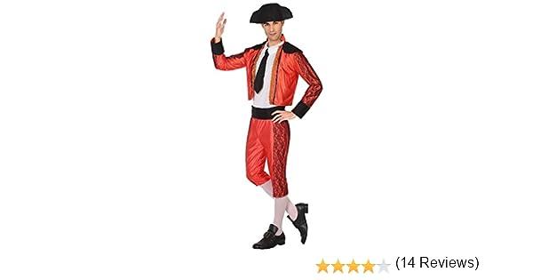 Atosa-38842 Disfraz Torero, Color Rojo, M-l (38842): Amazon.es: Juguetes y juegos