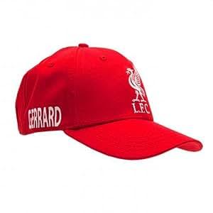Gorra de gerrard del Liverpool F.C - steven gerrard Gorra de béisbol - 58 cm correa de velcro ajustable - Con un swing etiqueta - Producto oficial del Chelsea FC
