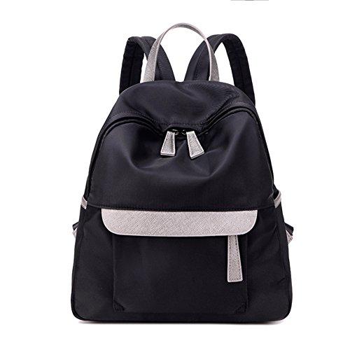 bolsa de lona Sra./Ocio mochila del estudiante/Impermeable pequeña mochila de turismo-B B