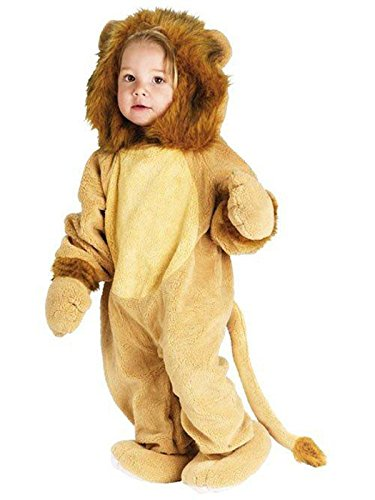 Animals Costumes (Fun World Costumes Baby's Cuddly Lion Toddler Costume, Tan, Toddler Large 3T-4T)