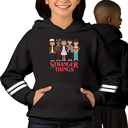 stranger-things Boys Girls Hoodie Unisex Teenager Kids Sweatshirt Cotton Hooded Winter Fleeces