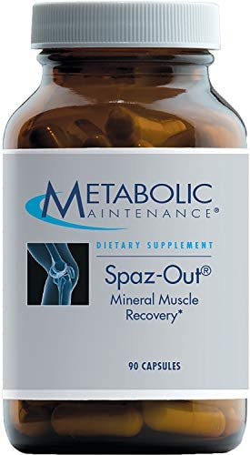 Metabolic Maintenance Spaz-Out – Electrolyte Mineral Complex for Workout Muscle Recovery 90 Capsules