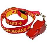 Classic 40Trillerpfeife + gewebtes Lifeguard Band