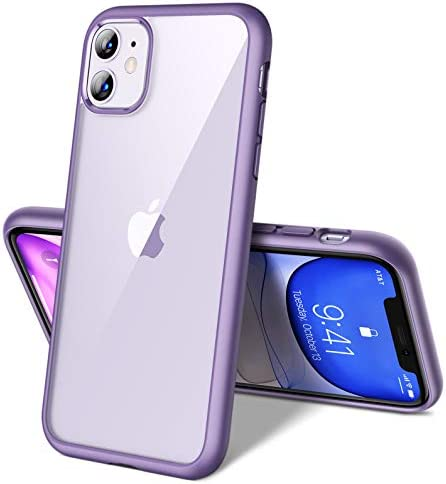 CASEKOO Crystal Clear Designed for iPhone 11 Case, [Military Grade Drop Tested] [Anti-Scratches] Shockproof Protective Phone Cases Slim Thin Cover (6.1 inch) 2019 (Midnight Purple)