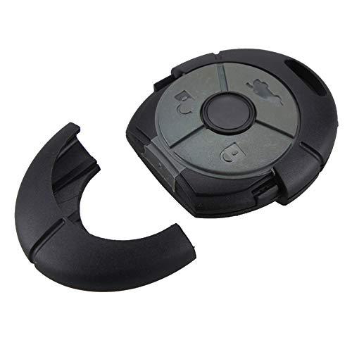 Automobile Locksmith Coque de clé télécommande 3Boutons pour Rover MG TF ZR ZS 2545Streetwise Alarme Porte-clés de Remplacement
