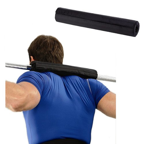 Enjoydeal barbell pad supports squat bar weight lifting