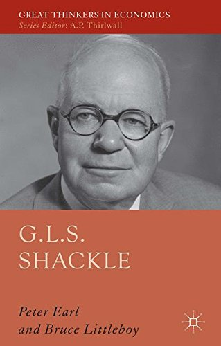 G L S  Shackle  Great Thinkers In Economics