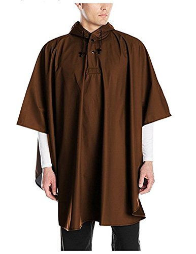 Charles River Apparel Pacific Poncho (Chocolate), One Size