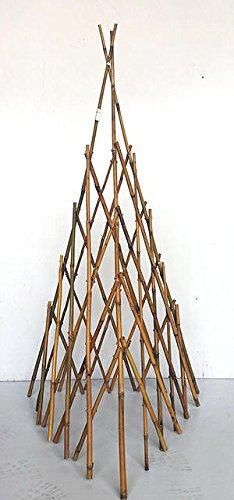 Natural Bamboo Poles Teepee, 60