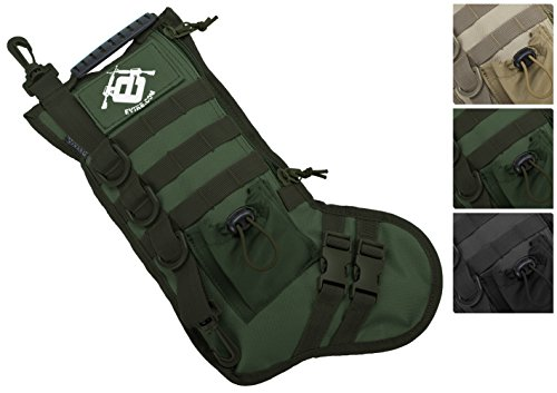Evike High Speed Operator Stocking / Accessory Pouch - OD Green - (45653)