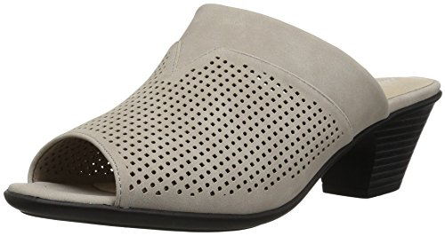 Easy Street Women's Posh Heeled Sandal Grey U6v4VWG