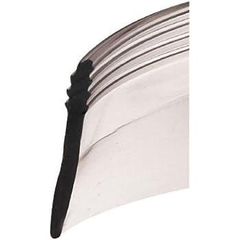 Angled Clear Vinyl Framed Shower Door Drip Sweep 7 Ft