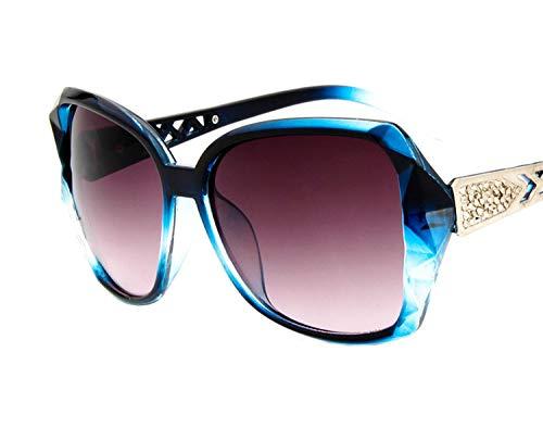 63ea89ed7f4f 2018 new fashion sunglasses, trend, wild sunglasses, women's big box  sunglasses,Tea