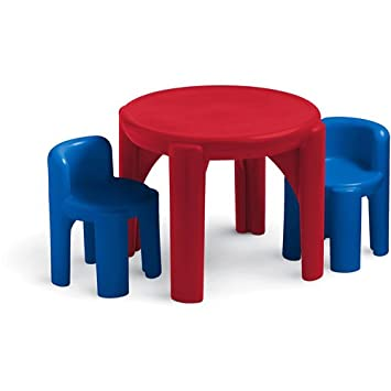 Amazon.com: Little Tikes Table and Chair Set, Primary: Baby