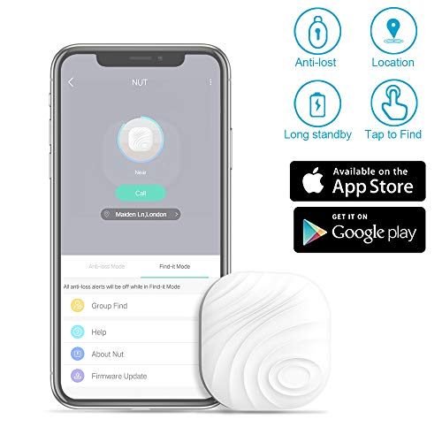 Smart Key Finder Anti-Lost Tracker - Evershop Item Finders GPS Tracker Wallet Locator Phone Key Anti-Lost Bidirectional Alarm Reminder for Phone,Keychain, Wallet,Luggage