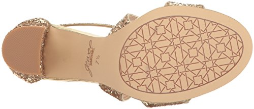 Badgley Mischka Jewel Womens Cook Jurk Sandaal Goud