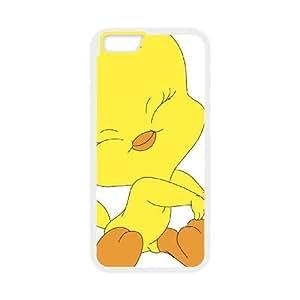 Tweety Bird Iphone 6 Plus 5.5 Inch Cell Phone Case White JNC57870