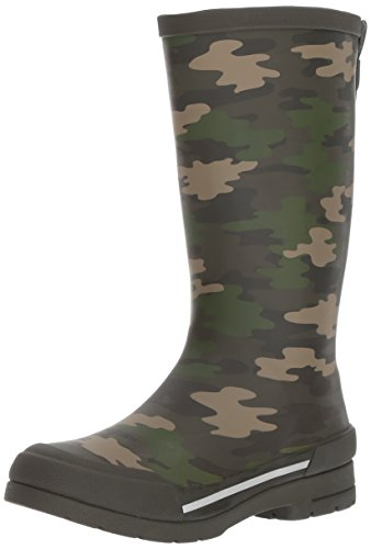 Western Chief Boys Waterproof Classic Youth size Rain Boots, Camo Green, 13 M US Little Kid by Western Chief (Image #1)
