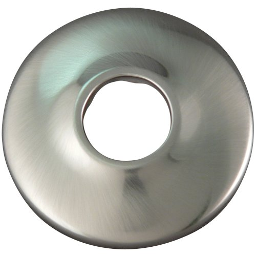 - Plumb Pak Keeney K91BN Shallow Flange for 1/2-Inch IPS, Brushed Nickel,