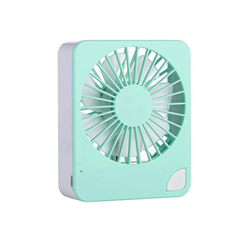 GETADATE Mini Portable USB Mini Desktop Creative Handheld Portable Fruit Fan for Summer Home Office - Green