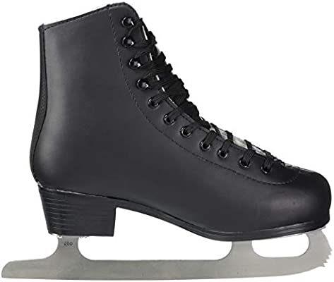 American Athletic Shoe Mens Leather Lined Figure Skates