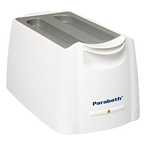 Parabath Paraffin Wax Heating Unit, Paraffin Wax Treatment Bath for Heat Therapy and Arthritis Pain Relief in Stiff Muscles and Joints, Large TheraBand Paraffin Wax Machine