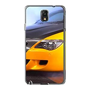 Galaxy Note3 Cases Covers - Slim Fit Tpu Protector Shock Absorbent Cases (yellow Ac Schnitzer Tension Concept Bmw Front Section)