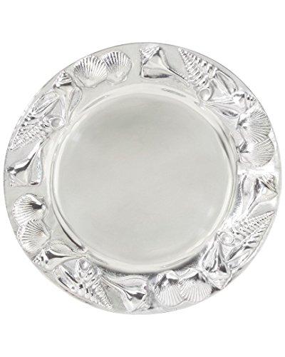 Mariposa Shell Round 14In Platter