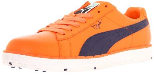 Blue PG Golf Vibrant Mens Orange PUMA Clyde Evening Shoe Blue 5x86pw